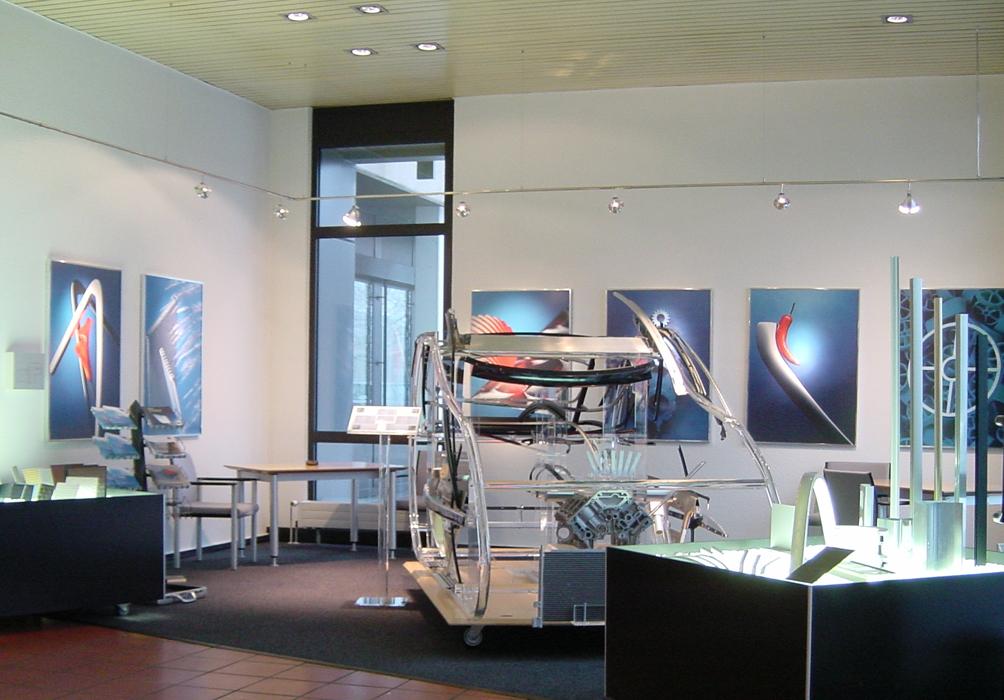 Showroom Foyer Hauptverwaltung