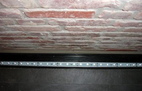 Privathaus Bodeneinbau LED Kanal
